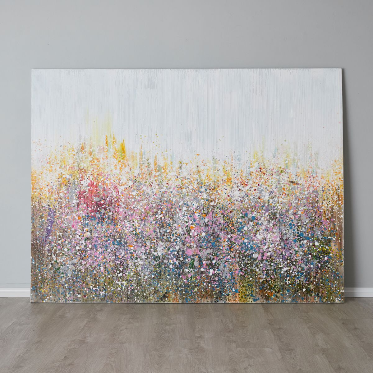 Abstract Field Painting