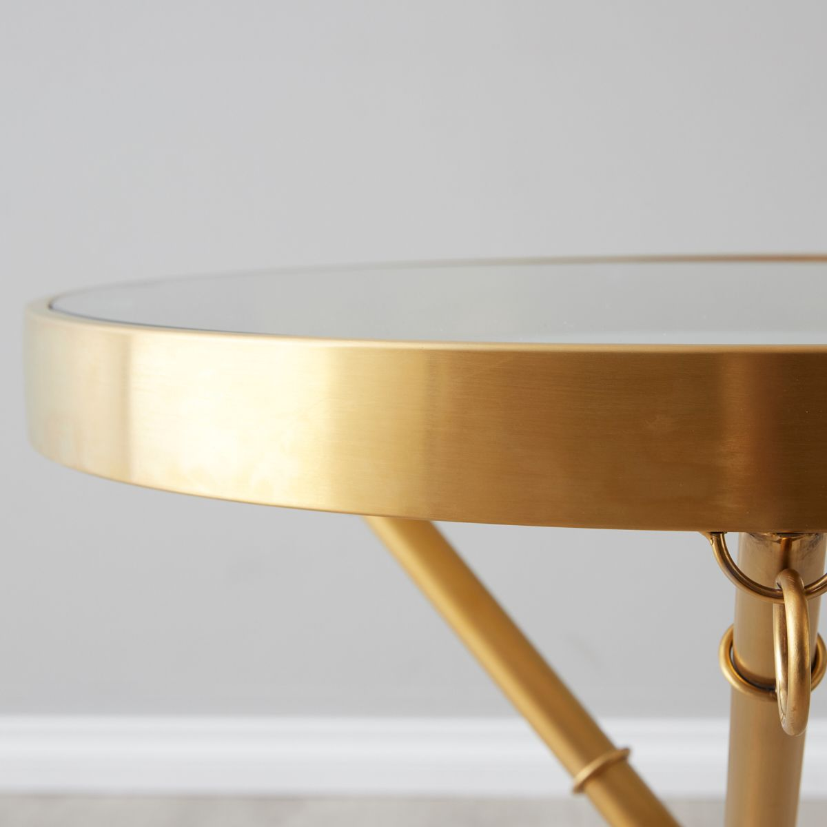 Sandringham gold side table