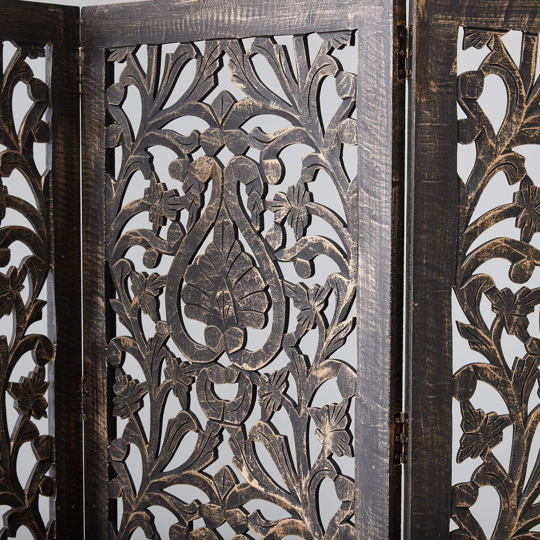 Carved Flora Partition