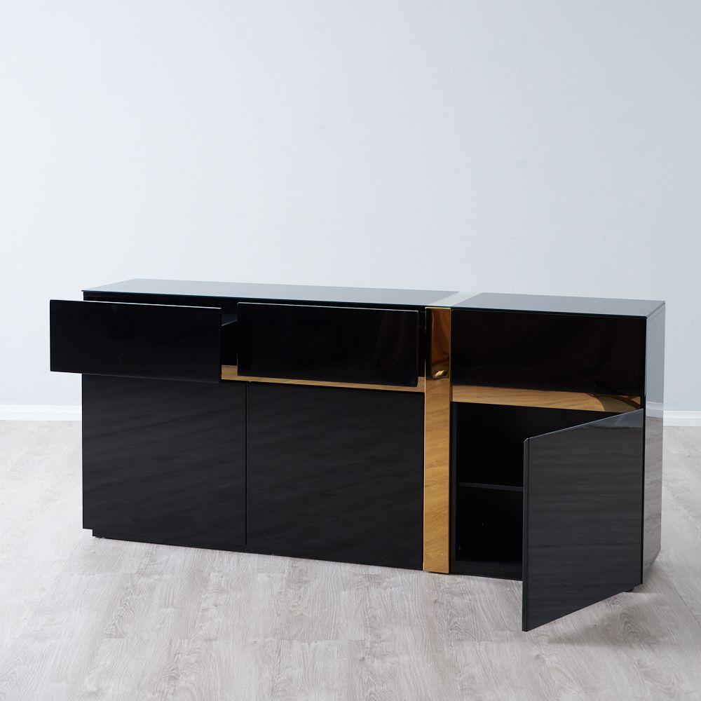 Rita Dining Cabinet - Black