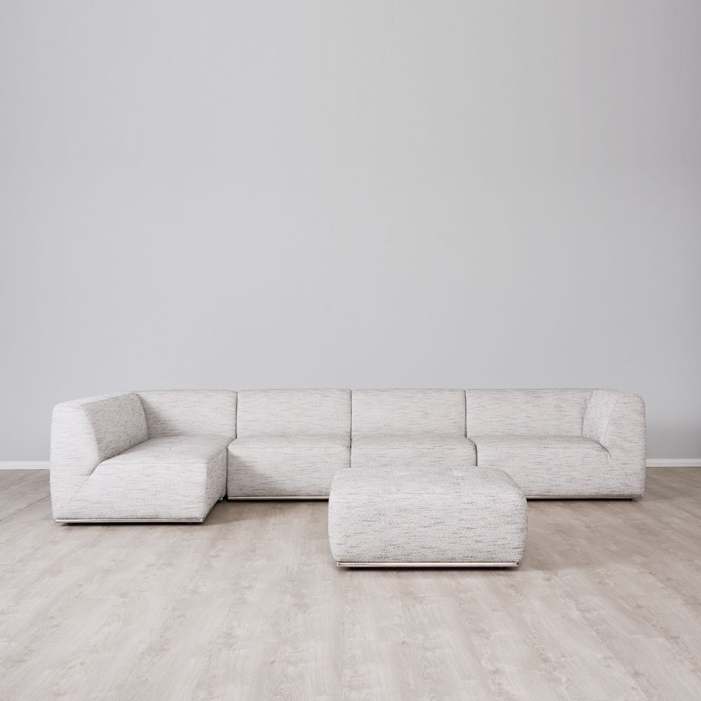 Oliver Left Chaise Lounge with Ottoman
