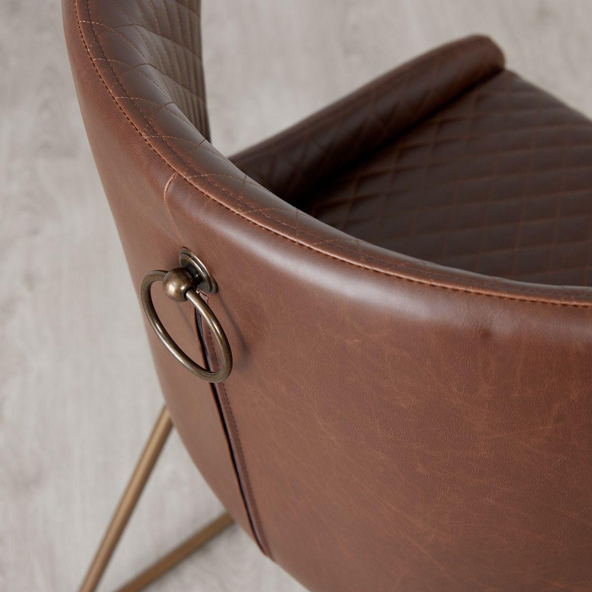 Quinn Chair - Brown