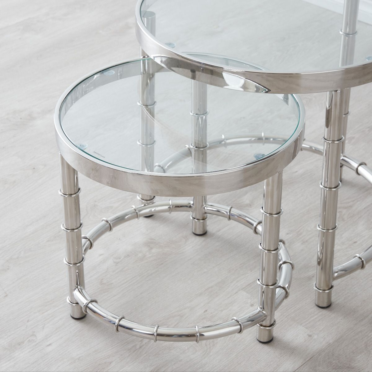 Balmoral Round nested side tables II