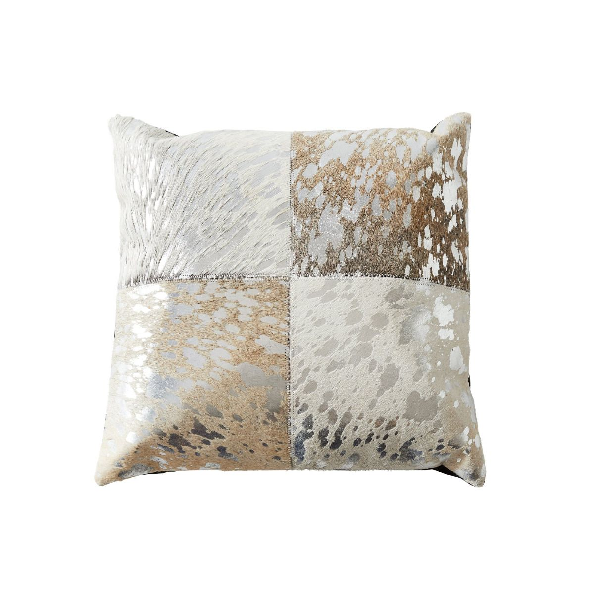 Starburst Leather Cushion II